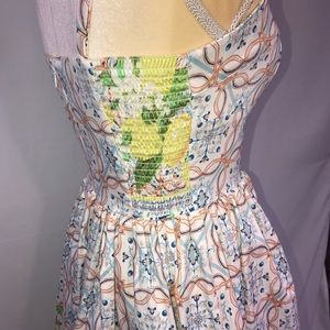 Amanda Uprichard Dresses - Amanda Uprichard floral and lemon dress